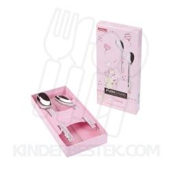 One Topis roze babyset 2-delig